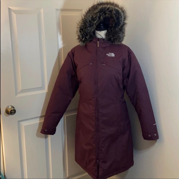 The North Face Jackets Coats Like New North Face Hyvent Parka Jacket Poshmark